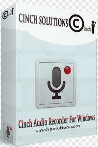 Cinch Audio Recorder 4.0.2 KeyCode with Crack 2021 Latest Version