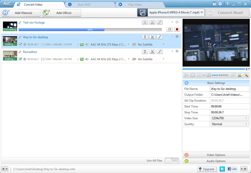 Any Video Converter Ultimate 7.0.7 Keygen Full Version:
