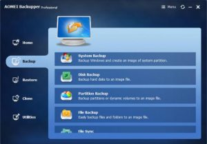 AOMEI Backupper All Editions 6.6.1 Crack With Keygen 2022