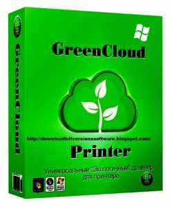 GreenCloud Printer Pro 7.9.0 With Crack